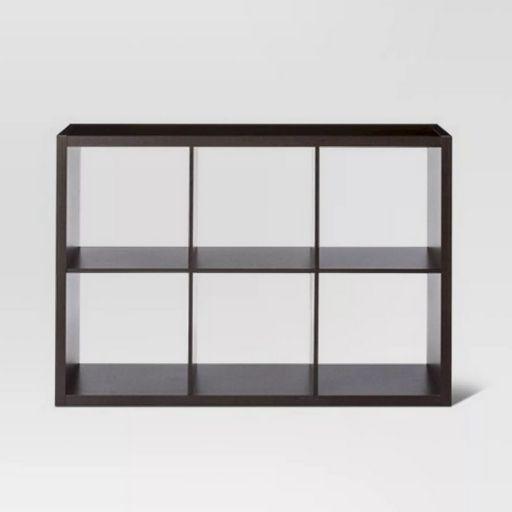 """Threshold 13"""" 6-Cube Organizer Shelf"""